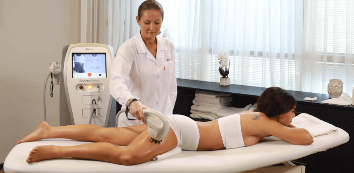 body contouring treatment with machine