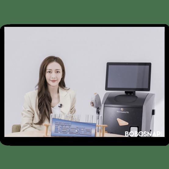 China celebrity Angel Wang shares her Harmony treatment experience@2x-min