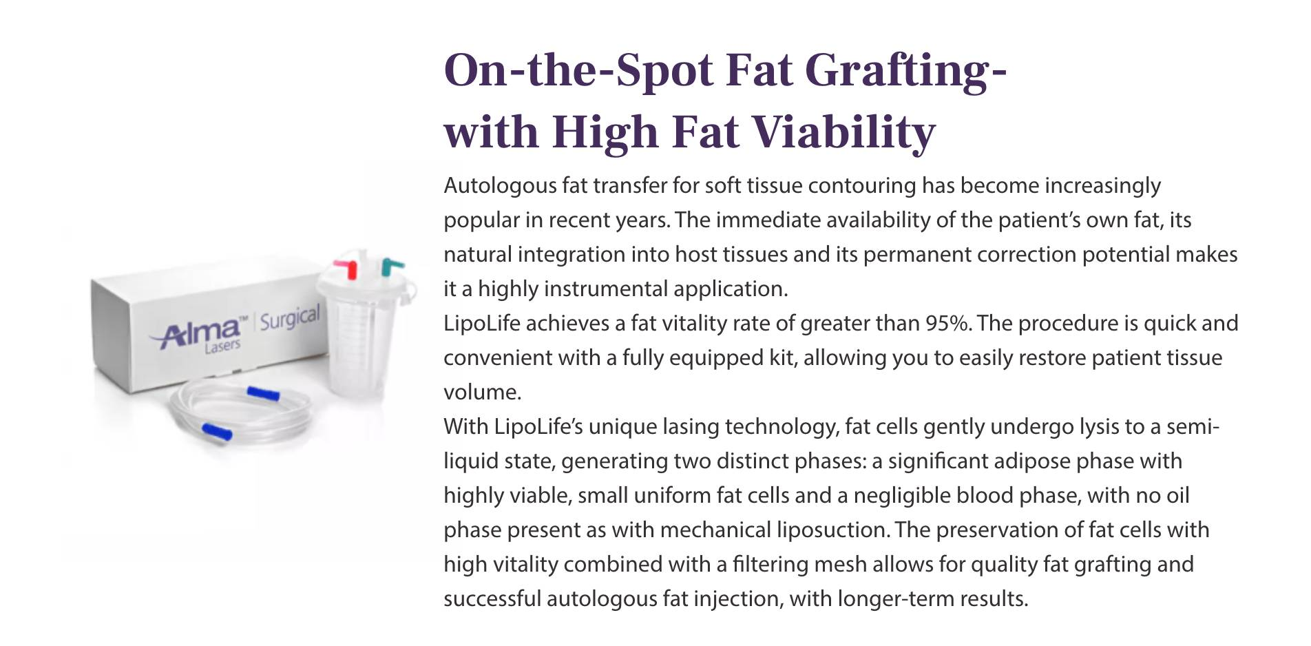 On-the-Spot Fat Grafting- with High Fat Viability@2x